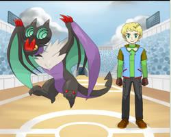 Pokemon Citrine and Topaz: Champion Tsubaki by KoreOfEmAll