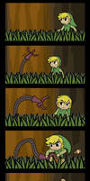 Wind Waker: To Pacify a Dexivine by swordxdolphin