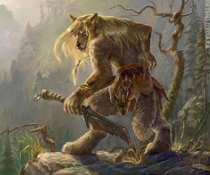Werewolf by gugu-troll
