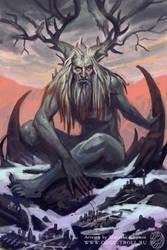 Demon of grey weekdays by gugu-troll