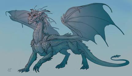 Dragon by gugu-troll
