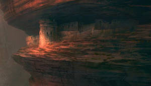 Puss in Boots Matte Painting Finale by NathanFowkesArt