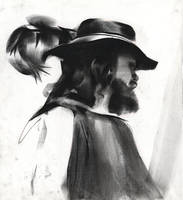 Beard and Hat by NathanFowkesArt