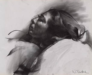 Charcoal Study by NathanFowkesArt