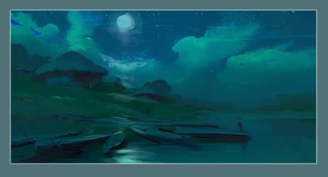 Moonlight! by NathanFowkesArt