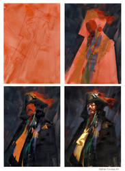 Watercolor and Gouache step by Step by NathanFowkesArt