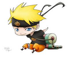 Naruto chibi by NTDevont by nelsonaof
