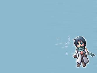 Vocaloid Kaito Wallpaper by shadowkitsunekirby