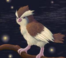 Pidgey by shadowkitsunekirby
