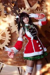 Senki Zesshou Symphogear - Merry Christmas! by SorelAmy