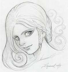 Viking Girl by SquirrelHsieh