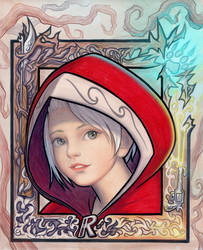 Little Red Riding Hood (2017) by SquirrelHsieh