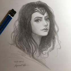 Wonder Woman by SquirrelHsieh