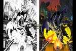 Batman colored by VitoDesArts