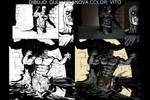Batman vs Lizard by VitoDesArts
