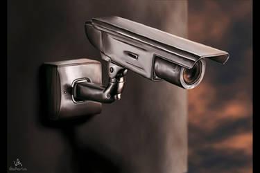 Camera on a Wall by VitoDesArts