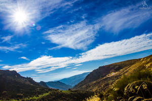 Blue horizons by VitoDesArts