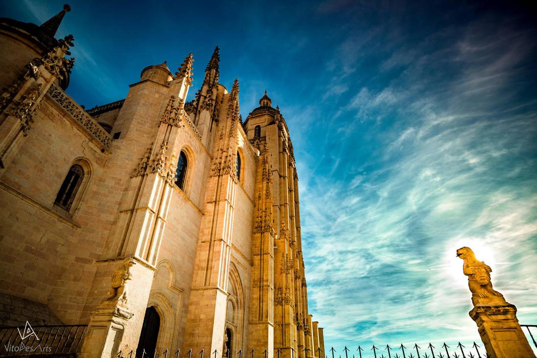 Segovia Cathedral #3 by VitoDesArts