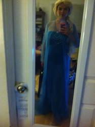 Queen Elsa WIP by ArtistLucy