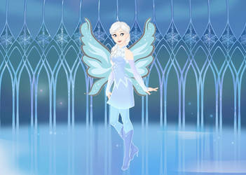 Glacia Magic Winx Remake by ArtistLucy