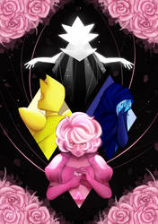 Steven Universe - A Single Pale Rose by queen-val