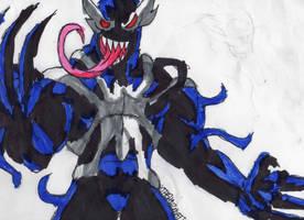 Venom-Wolverine by ChahlesXavier