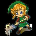 Zelda Collab- Shovel by eERIechan