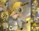 Faunicorn Chip OC plushie by eERIechan