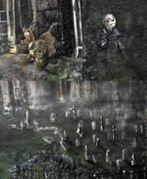 Random spooky castle detail by NickMears