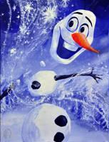 Olaf- from Disney's FROZEN by NickMears