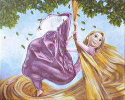 Rapunzel from Disney's Tangled by NickMears
