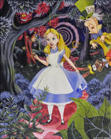 Disney's Alice in Wonderland by NickMears
