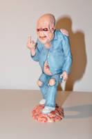 Peter Jackson's Bad Taste alien by NickMears