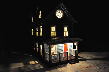Blue House miniature WIP Pic-2 by NickMears