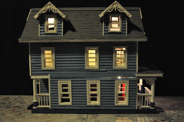 Blue House miniature WIP Pic-3 by NickMears