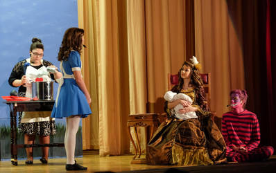 Alice in Wonderland play. by SteedaChaos