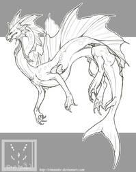 7C_Vampyra-Drake by Syvaender