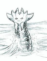 Waterbeast by EchoGrey