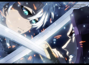 Bleach 592: Toushiro vs Yumichika by AR-UA