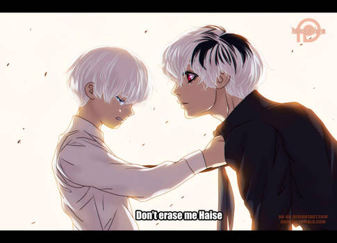 Tokyo Ghoul RE: 31: Don't erase me Haise by AR-UA
