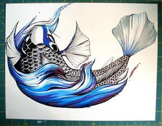 Koi Wave by nedashi