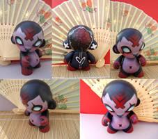 Moko The Mini Munny by nedashi