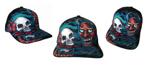 Demon Skulls Cap by nedashi