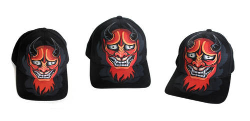 Red Demon Hat by nedashi