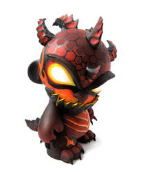 Deathwing Munny 2 by nedashi