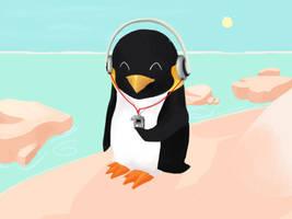 Penguin by nedashi