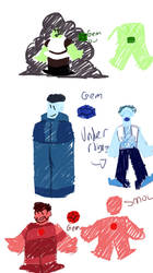 basic color ref for gems! by Creation-Department