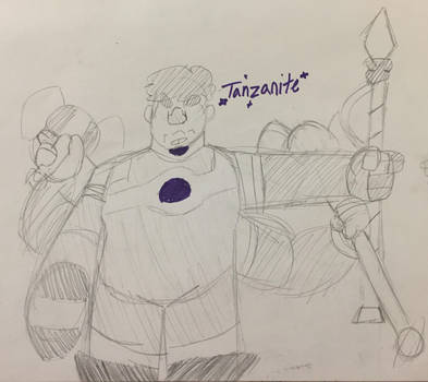 Tanzanite!! by Creation-Department