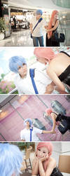 Kuroko and Momoi date by vicissiJuice