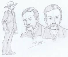 Virgil Earp Character Design by aminamat